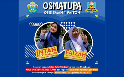 Sah!! Ketua dan Pengurus OSIS 2020/2021 SMA Negeri 1 Paiton Resmi Dilantik